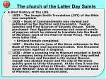 the church of the latter day saints1