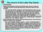 the church of the latter day saints5