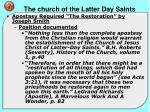 the church of the latter day saints9
