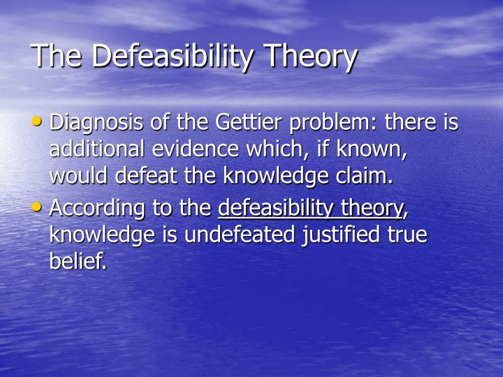 what is the gettier problem Responses to the gettier problem since the gettier's objection relies on two assumptions, one tactic you might take in defending the view that propositional knowledge is justified, true belief is that one of gettier's assumptions.