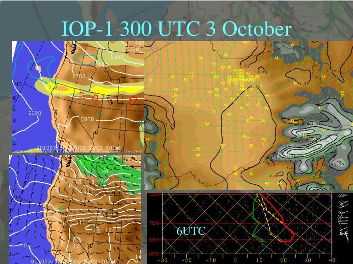 IOP-1 300 UTC 3 October