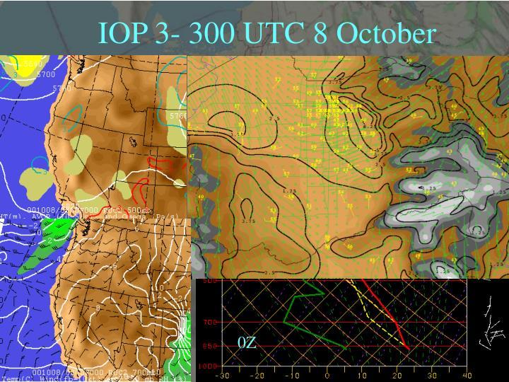 IOP 3- 300 UTC 8 October