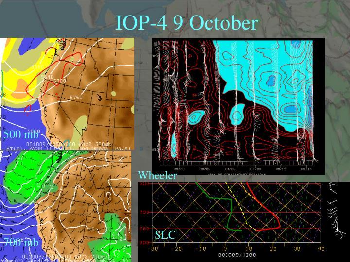 IOP-4 9 October