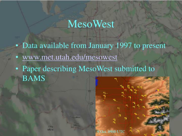 MesoWest