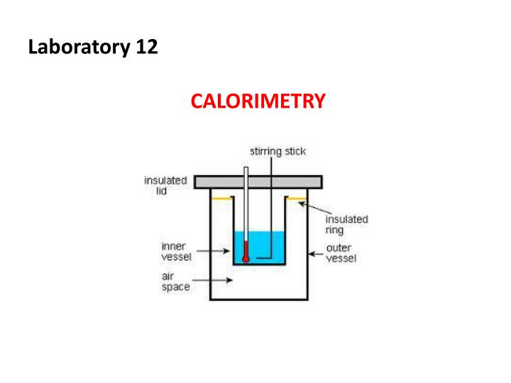 thermochemistry an ice calorimeter determination of