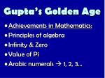 gupta s golden age