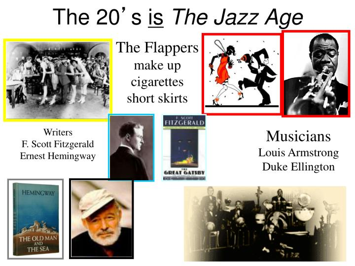 echoes of the jazz age fitzgerald essay Leverage diversity and increase innovation ask about how ways your organisation can increase its diversity capability.