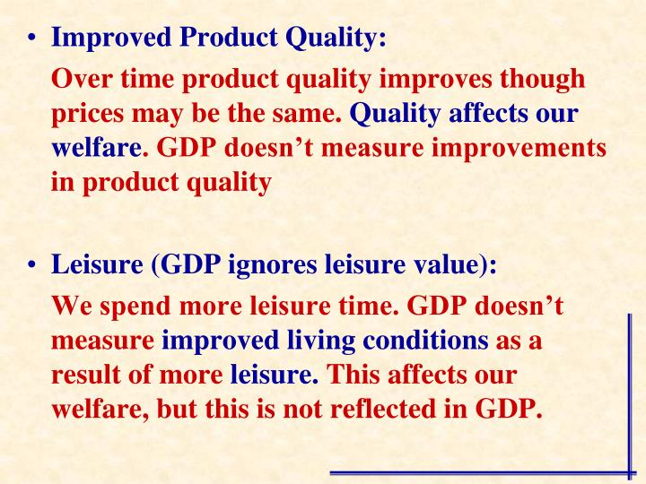 Improved Product Quality: