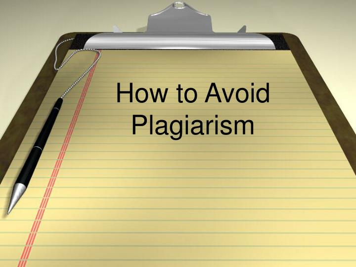 how to avoid plagiarism in research paper Plagiarism is a serious offense in academic research here are some tips on how to avoid plagiarism in research papers considered as a serious academic and intellectual offense, plagiarism can result in highly negative consequences such as paper retractions and loss of author credibility and.