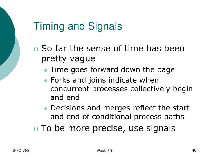 Timing and Signals