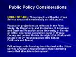 public policy considerations1