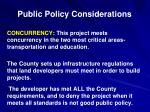 public policy considerations3