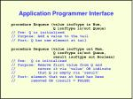 application programmer interface1