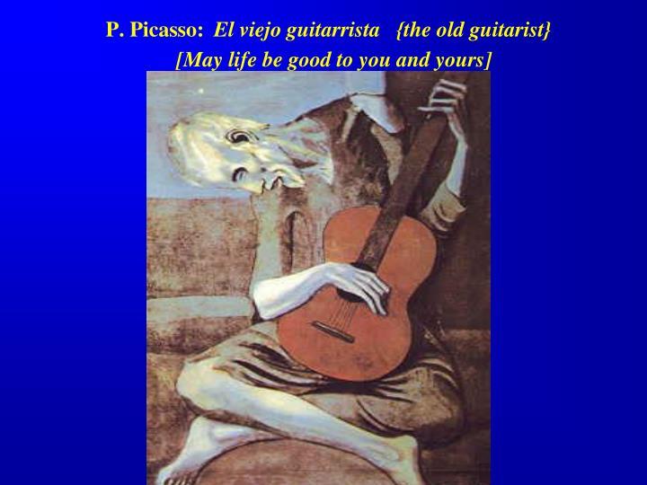 P. Picasso: