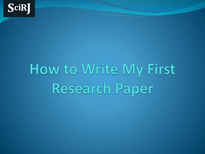 Write my research paper for me free