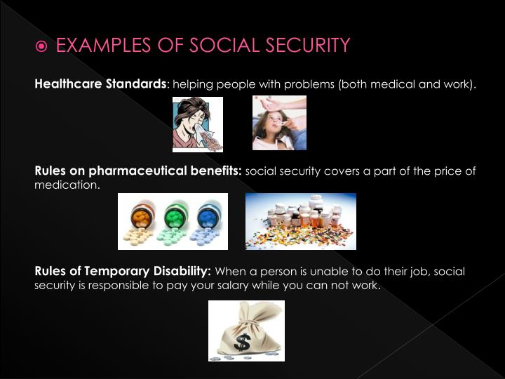 EXAMPLES OF SOCIAL