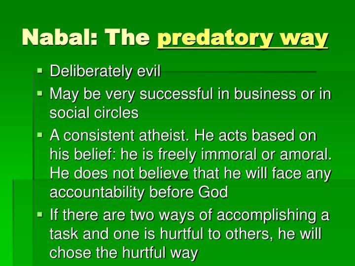Nabal: The