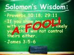 solomon s wisdom1
