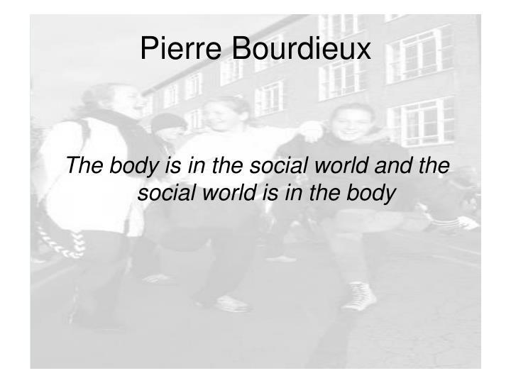 Pierre Bourdieux