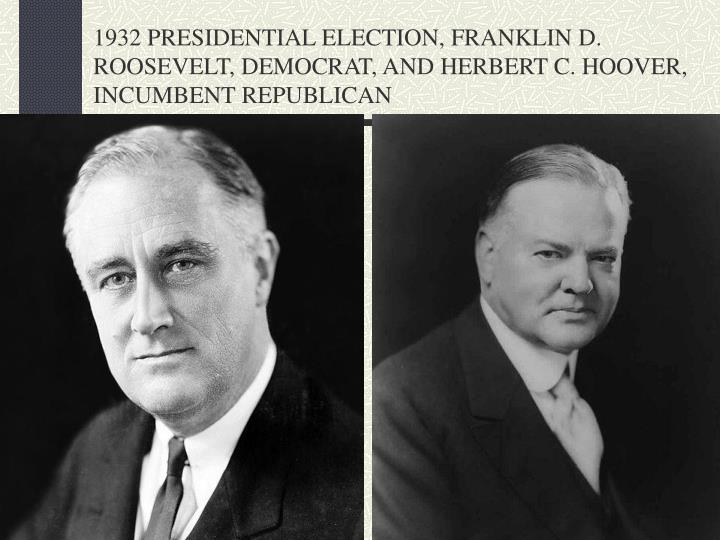 franklin d roosevelt and herbert c Watch video biographycom highlights president franklin d roosevelt find out more about how he led the united states through the great depression and world war ii.