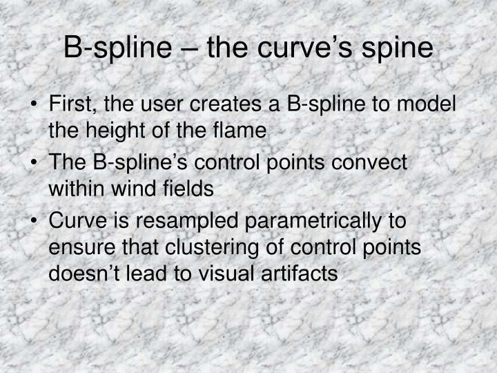 B-spline – the curve's spine