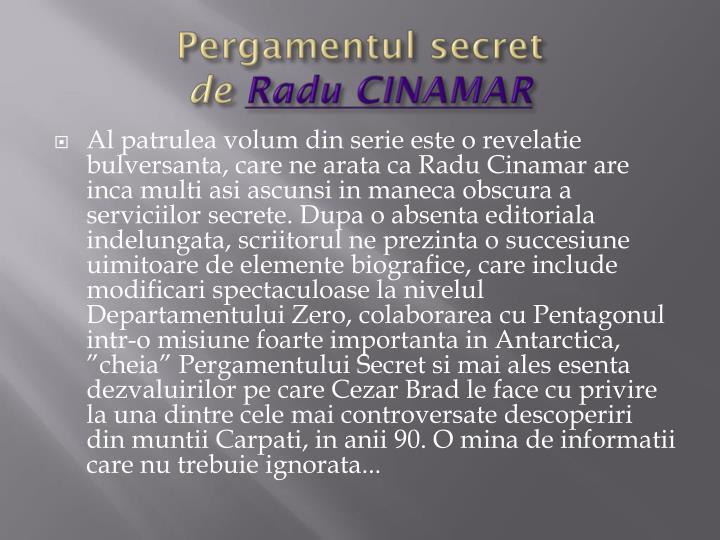 Pergamentul secret