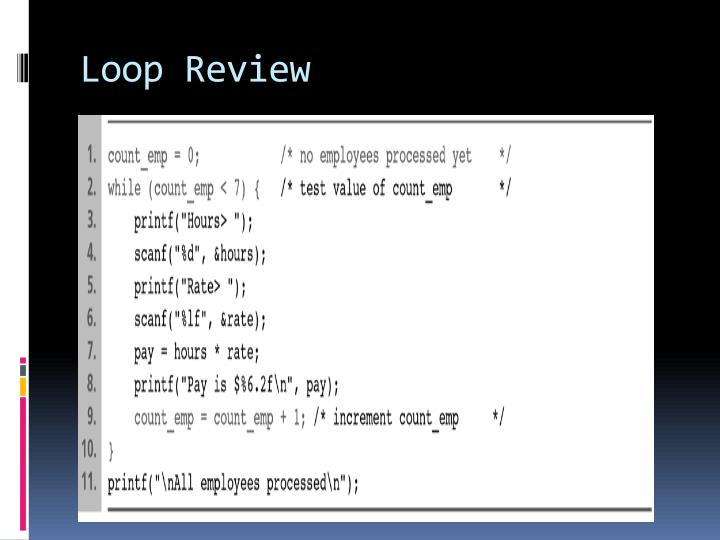 Loop review1