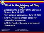 what is the history of flag day