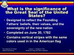 what is the significance of the great seal of the united states
