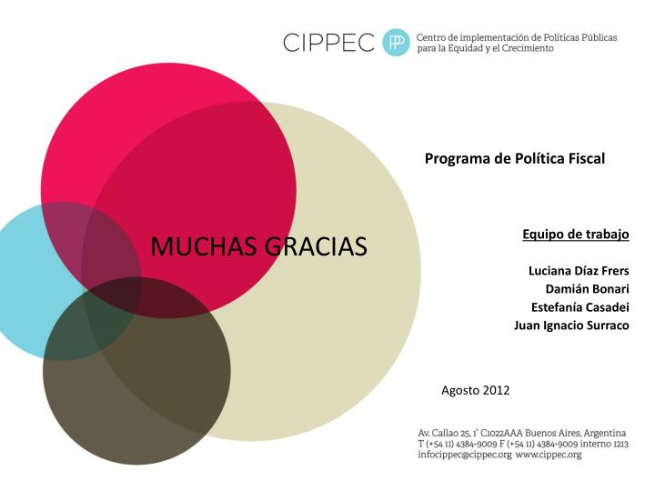 Programa de Política Fiscal
