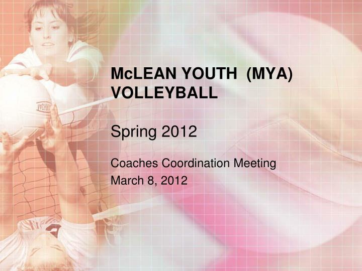mclean youth mya volleyball spring 2012 n.