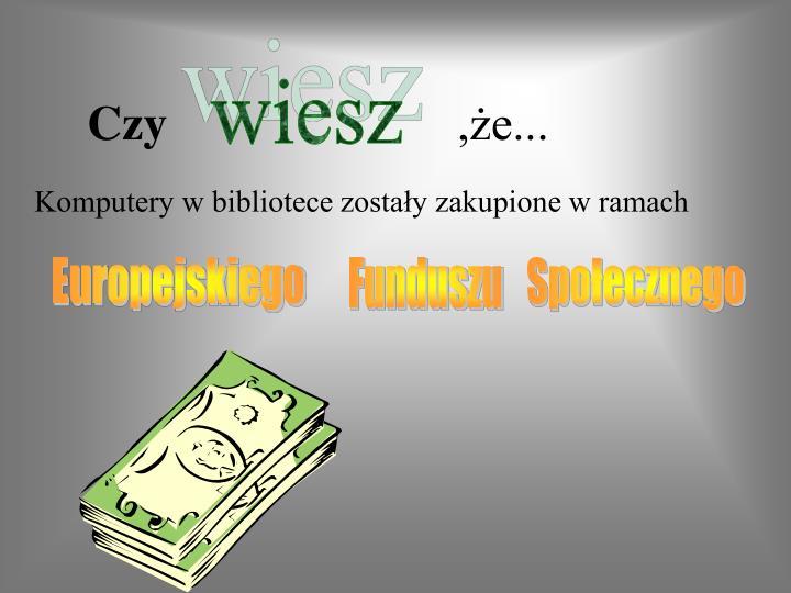 Czy e