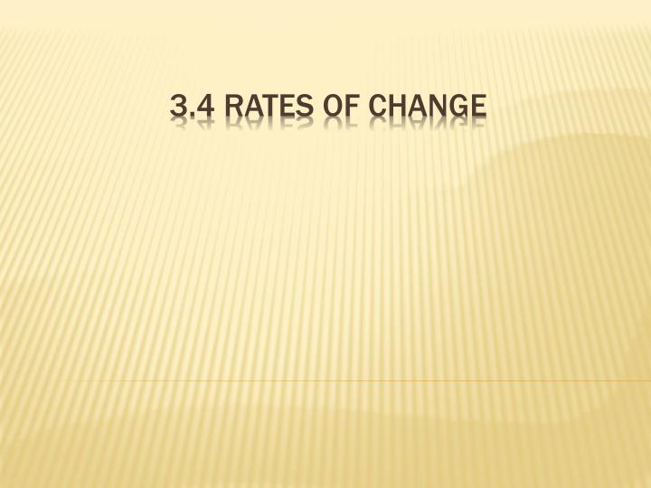 3 4 rates of change n.