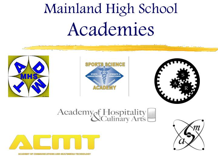 Mainland high school academies
