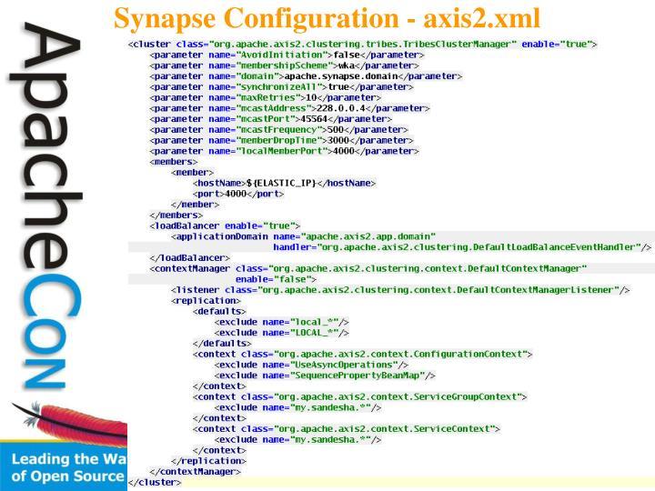 Synapse Configuration - axis2.xml