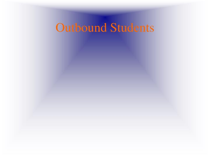 Outbound Students