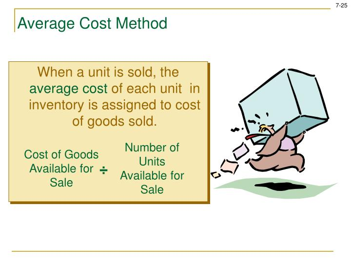When a unit is sold, the