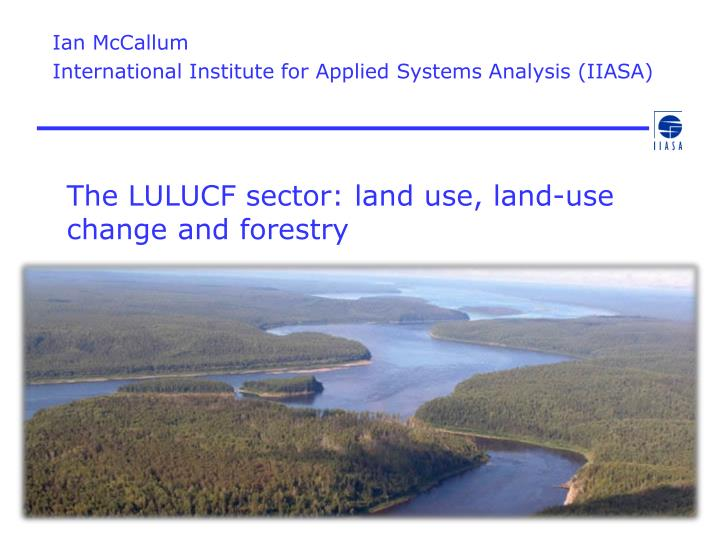 the lulucf sector land use land use change and forestry n.