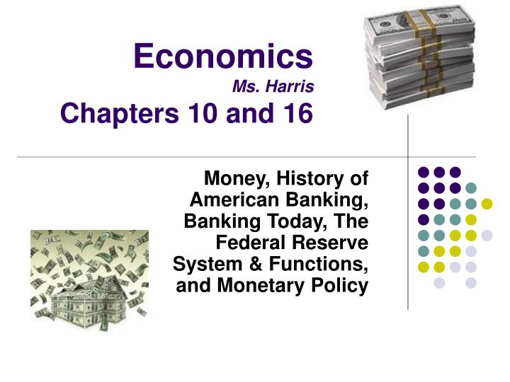 economics ms harris chapters 10 and 16 n.