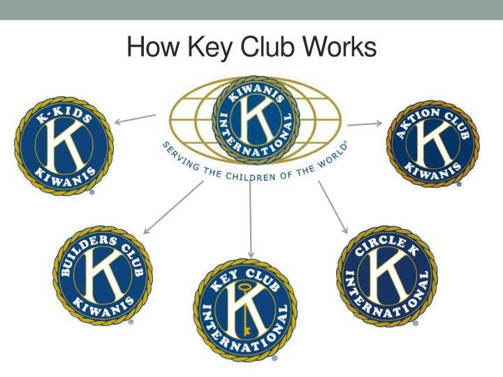 How Key Club Works