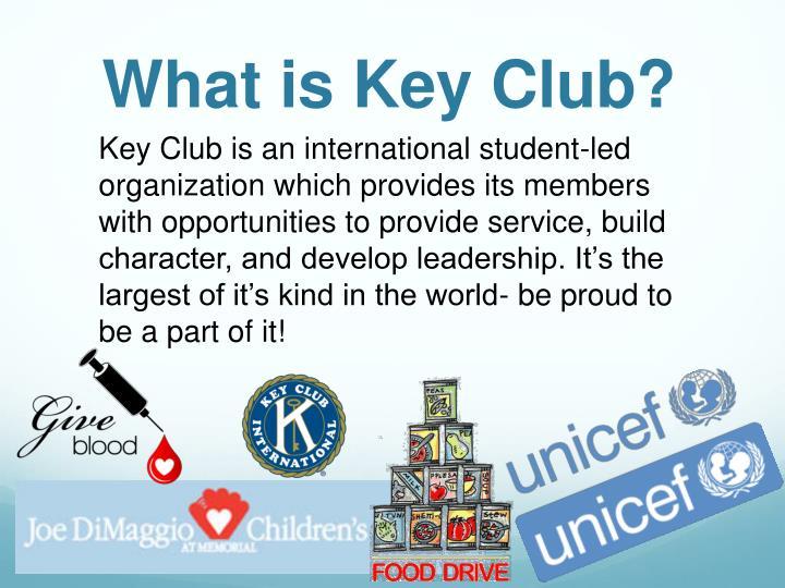 What is Key Club?