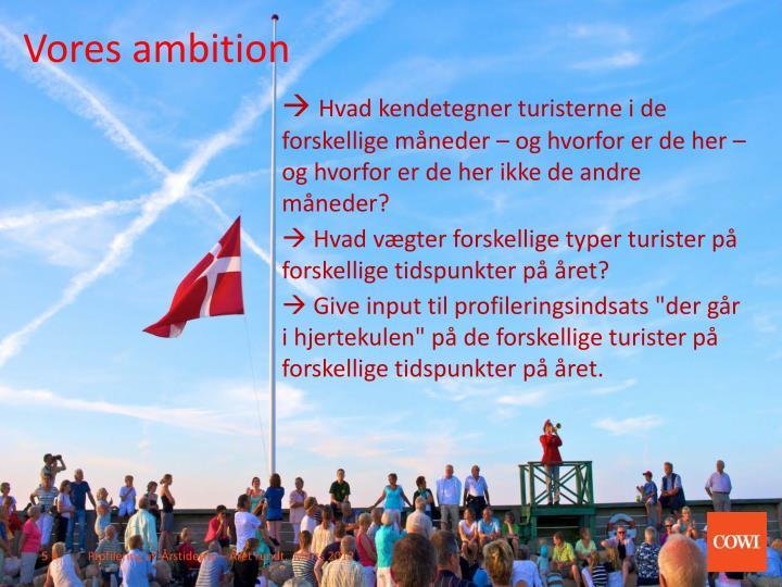 Vores ambition