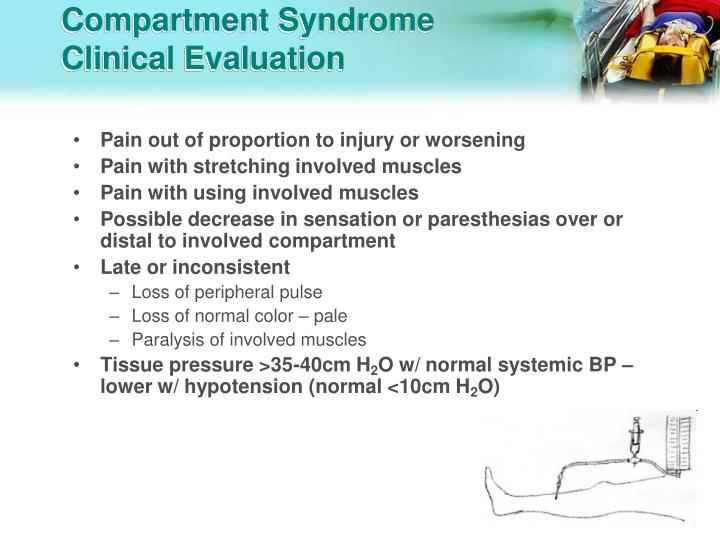 Compartment Syndrome Clinical Evaluation