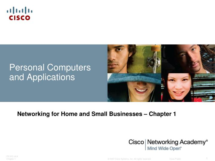 personal computers and applications n.