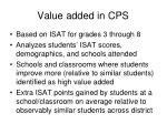 value added in cps1