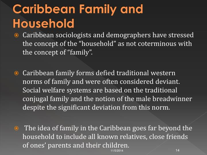 Caribbean Family and Household