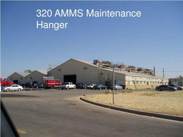 320 AMMS Maintenance Hanger
