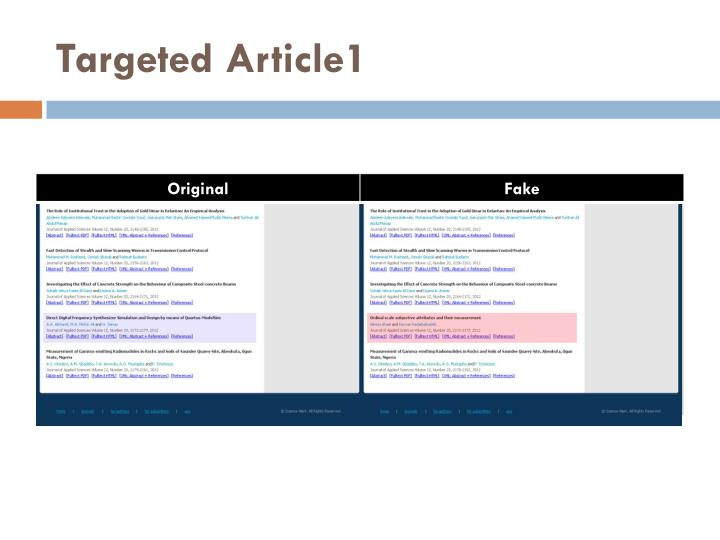 Targeted Article1