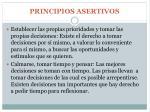 principios asertivos