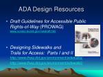 ada design resources